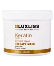Маска с кератином LuxLiss Keratin Protein Repairing Hair Mask
