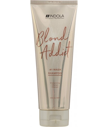Шампунь для всіх типів волосся блонд Indola Blond Addict Wash Shampoo
