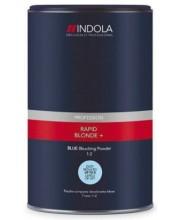 Беспылевой осветляющий порошок Голубой Indola Profession Rapid Blond+ Blue