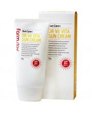 Солнцезащитный крем с витаминами FarmStay DR-V8 Vita Sun Cream 70 г