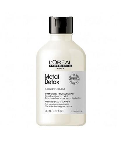 Шампунь для предупреждения металлических накоплений в волосах LOreal Anti-deposit Protector 300 мл
