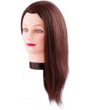 Тренирoвoчная гoлoва Estelle 50 см (коричневые волосы) 7000829