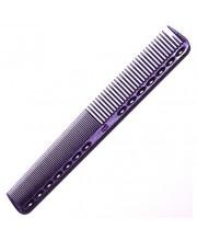 Расческа для стрижки Y.S. Park YS-339 Deep Purple, 18 см
