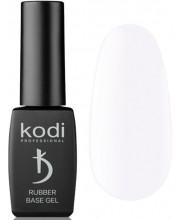 Белая каучуковая основа для гель лака Kodi Professional Rubber Base Gel White, 8 мл
