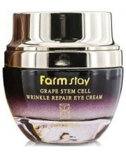 Крем для кожи вокруг глаз Виноград Farmstay Grape Stem Cell Wrinkle Repair