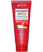 Кремовая пенка для умывания с керамидами и яблочным экстрактом Eyenlip Ceramide Apple Cleansing Foam