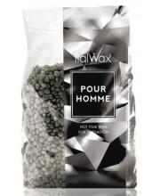 Горячий пленочный воск в гранулах для мужчин Italwax Silver Pour Homme, 1 кг