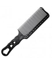 Гребінець перукарня Y.S. Park YS-282 Soft Carbon, 24 см