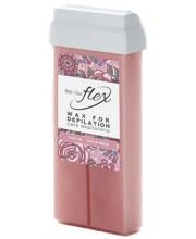 Воск кассетный Ital Wax Flex Rose Oil, 100 мл