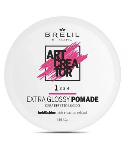 Помада для блиску Brelil Art Creator Extra Glossy Pomade 1