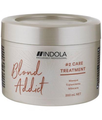 Маска для всех типов блонд Indola Blond Addict Treatment