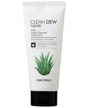 Пенка для умывания с алоэ Tony Moly Clean Dew Aloe Foam Cleanser