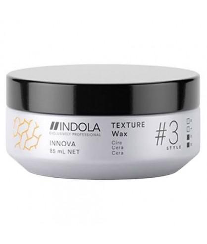 Текстурирующий воск легкой фиксации Indola Innova Texture Wax