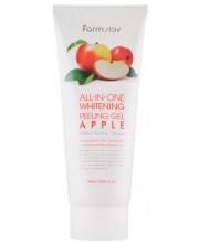 Пилинг-гель с экстрактом яблока Farmstay All-In-One Whitening Peeling Gel Apple