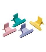 Зажим пластиковый разноцветный Comair, 1 шт (12 шт в упаковке) 3150025