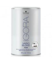 Осветляющий порошок до 7 уровней (голубой) Schwarzkopf Igora Vario Blond Plus 450 гр.