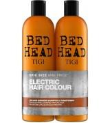 Набор для окрашенных волос (шампунь и кондиционер) Tigi Electric Hair Colour Colour Goddess Tweens Set