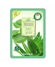 Маска-салфетка для лица с алоэ Алоэ BeauuGreen Contour 3d Aloe essence mask