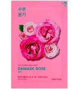 Тканевая маска с дамасской розой Holika Holika Pure Essence Mask Sheet Damask Rose