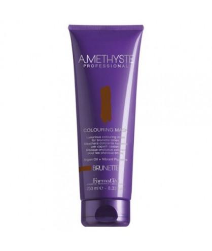 Маска для коричневых оттенков волос FarmaVita Amethyste Colouring Mask Brunette