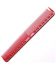 Расческа для стрижки Y.S. Park YS-339 Red, 18 см
