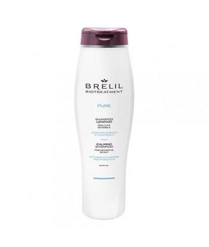Шампунь відновлюючий для чутливої шкіри голови Brelil Bio Traitement Pure