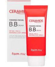 Укрепляющий BB-крем для лица с керамидами SPF 50 Farmstay Ceramide Firming