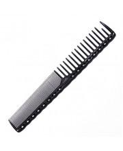 Гребінець перукарня Y.S. Park YS-332 Carbon, 18.5 см