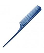 Гребінець для стрижки з хвостиком Y.S. Park YS-101 Blue, 21.6 см
