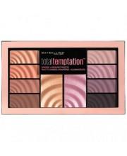 Палетка теней и хайлайтеров Maybelline Total Temptation Eyeshadow + Highlight Palette