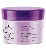 Маска для гладкости волос Schwarzkopf BC Keratin Smooth