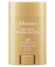 Солнцезащитный крем в стике с 24-каратным золотом JMsolution 24K Gold Premium Light Sun Stick