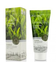 Пенка для умывания с экстрактом зелёного чая 3W Clinic Green Tea Foam Cleansing 100 мл