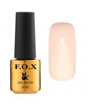 Гель-лак F.O.X Gel-Polish Gold French