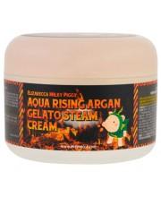 Крем увлажняющий Elizavecca Aqua Rising Argan Gelato Steam Cream