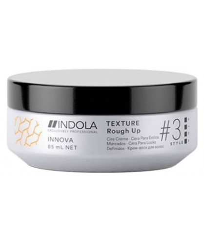 Крем-віск для створення матових укладок Indola Innova Texture Rough Up