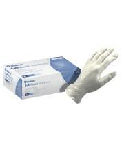 Перчатки виниловые без пудры прозрачные Medicom, 100 шт