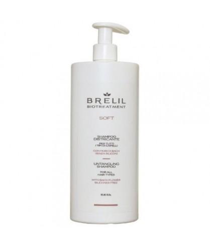 Шампунь без силиконов для непослушных волос Brelil Bio Traitement Soft