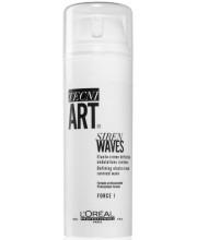 Крем для кучерів еластичної фіксації LOreal Tecni Art Siren Waves