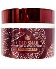 Осветляющий крем с муцином улитки Enough Gold Snail Moisture Whitening Cream