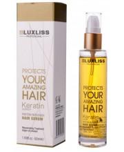 Восстанавливающая сыворотка с кератином LuxLiss Keratin Protein Repairing Hair Serum