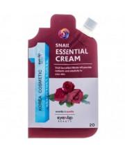 Крем для лица с улиточным муцином Eyenlip Snail Essential Cream 20 г