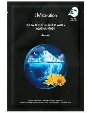 Тканевая маска с экстрактом лотоса JMSolution Snow Lotus Glacier Water Alaska Mask Snow