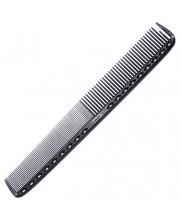 Расческа для стрижки Y.S. Park YS-335 Carbon Black, 21.5 см