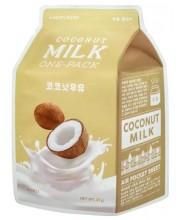 Увлажняющая тканевая маска для лица с кокосовым молоком APieu Coconut Milk One-Pack