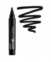 Маркер для глаз толстый Carbon Black NYX Super Fat Eye Marker