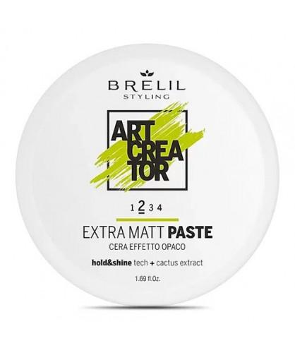 Паста для укладки с матирующим эффектом Brelil Art Creator Extra Matt Paste 2