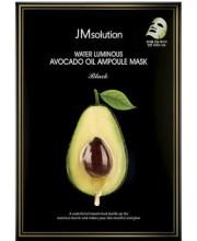 Питательная ультратонкая маска с авокадо JMsolution Water Luminous Avocado Oil Ampoule Mask