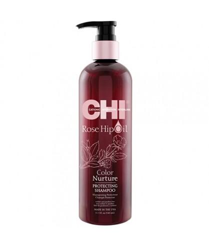 Шампунь відновлюючий з олією шипшини CHI Rose Hip Oil Shampoo