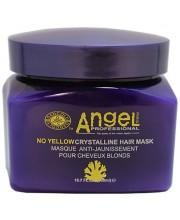 Маска для нейтрализации желтого пигмента Angel Professional